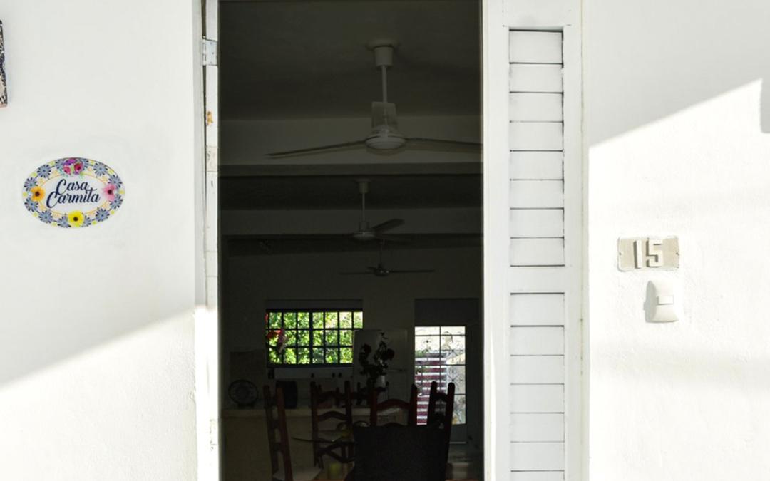 fachada de casa tradicional cozumeleña