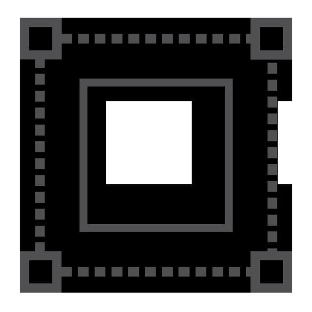 icono abstracto que representa planificación, diseño e ingeniería