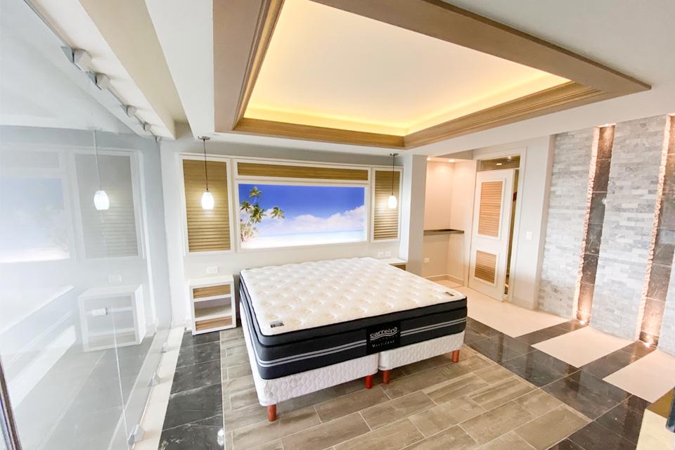 habitación con cama king size proyecto private paradise